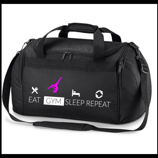 Eat Sleep Gym Repeat GAF Sac de Sport