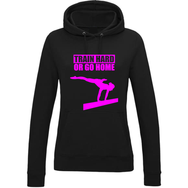 Train Hard Or Go Home Sweat Femme