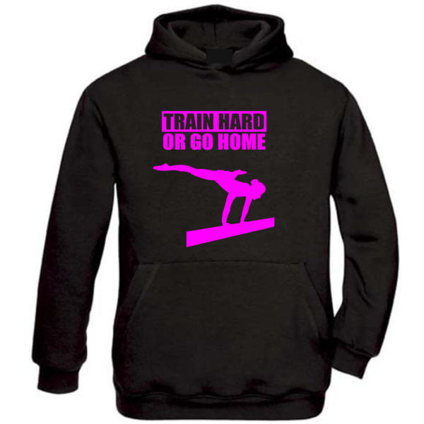 Train Hard Or Go Home Veste Fille