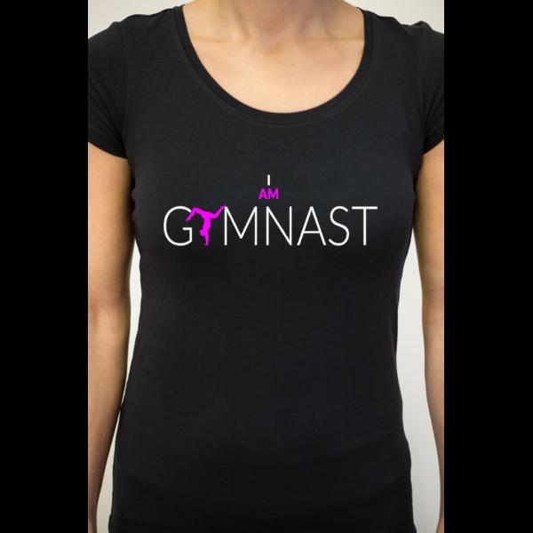 I Am Gymnast Tee-Shirt Femme