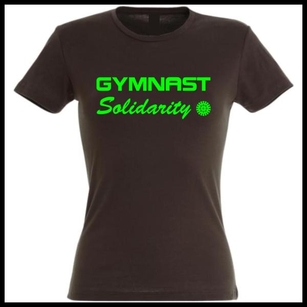 Solidarity Gymnast Tee-Shirt Femme