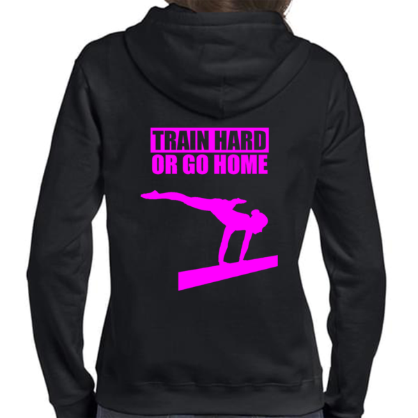Train Hard Or Go Home Veste Femme