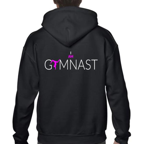 I Am Gymnast Veste Fille