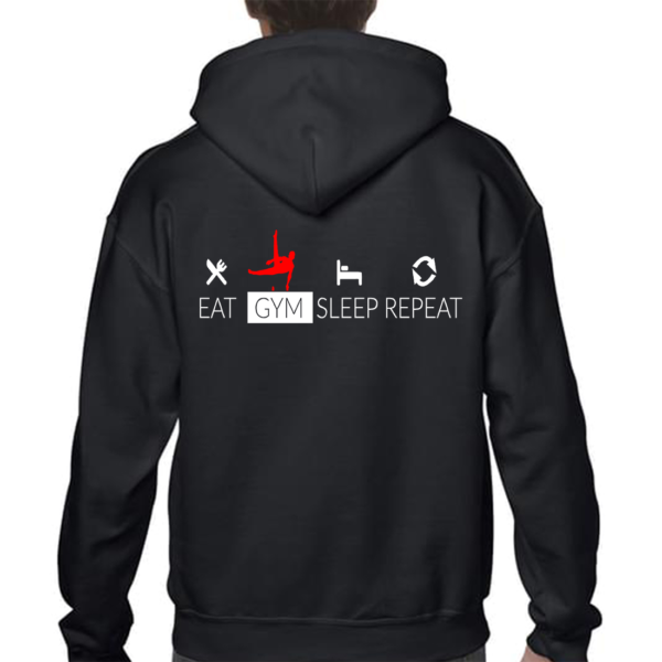 Eat Sleep Gym Repeat Veste Homme