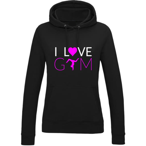 I love Gym Sweat Femme