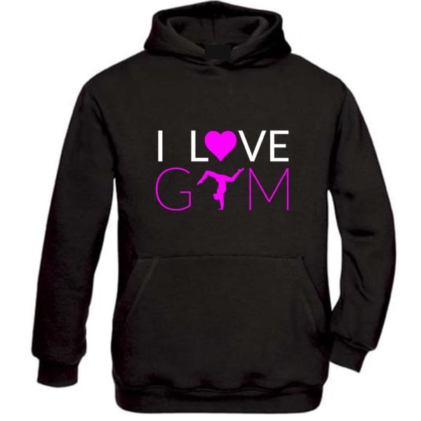 I Love Gym Sweat Fille