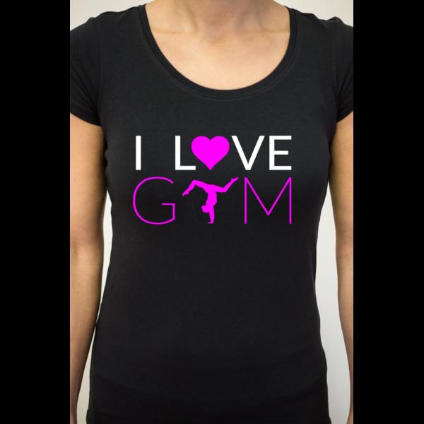I Love Gym Tee-Shirt Femme