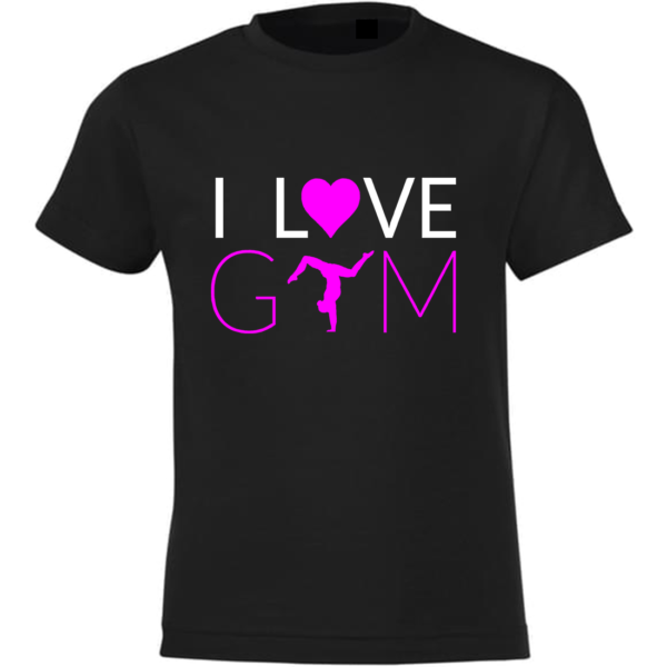 I Love Gym Tee-Shirt Fille