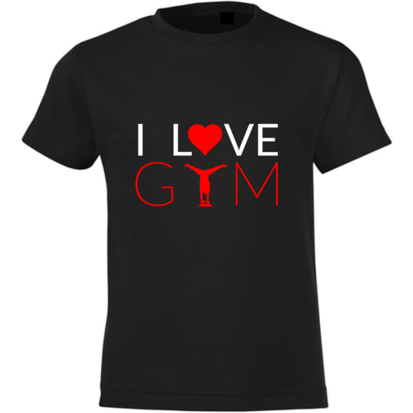 I love Gym Tee-Shirt Garçon