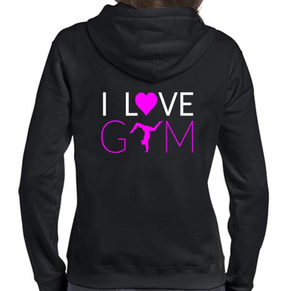 I love Gym Veste Femme