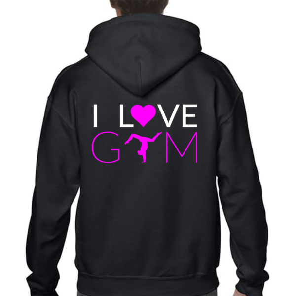 I love Gym Veste Fille
