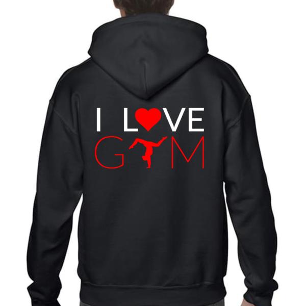 I love Gym Veste Homme