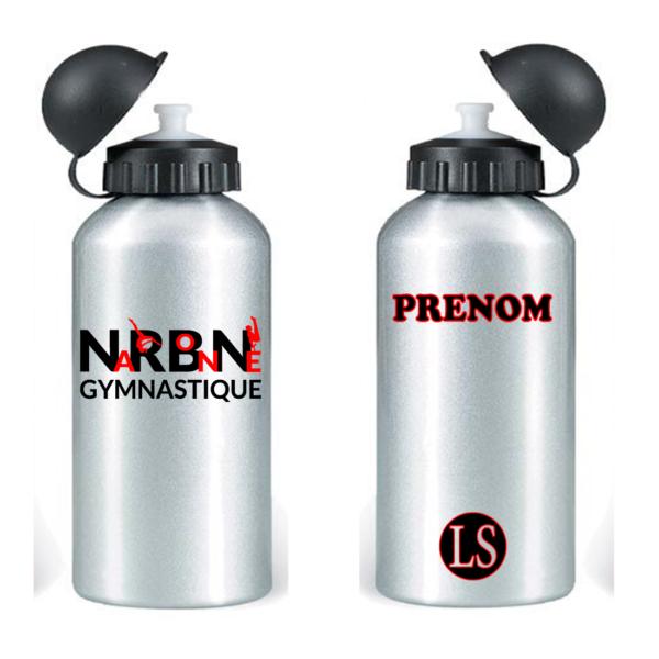 NARBONNE CLUB Gourde +Prénom Inclus