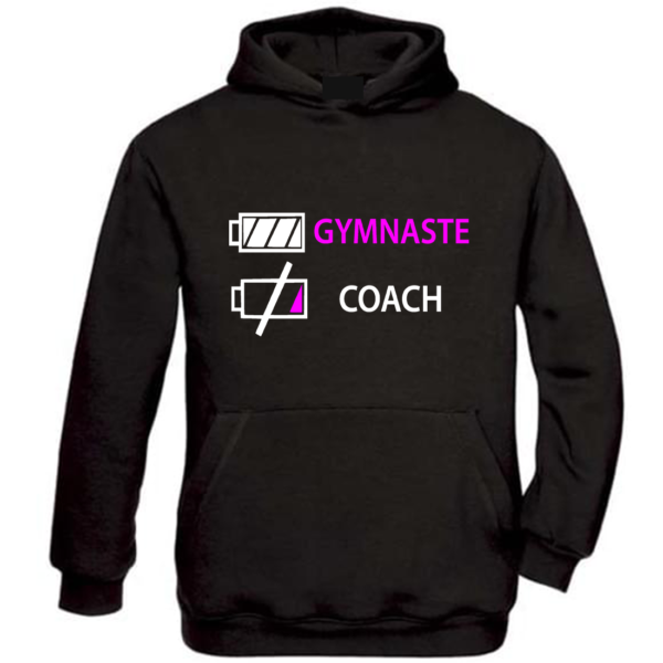 J'épuise Le Coach Sweat Fille