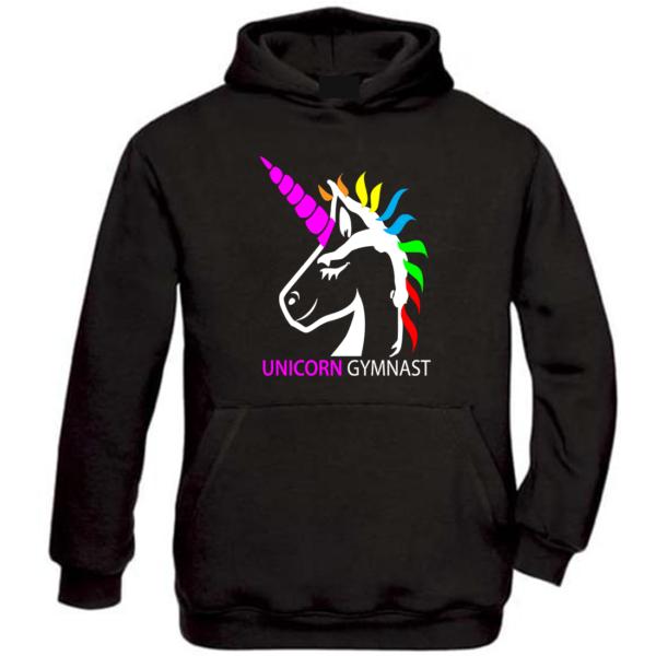 Licorne Unicorn Gymnast Sweat Fille
