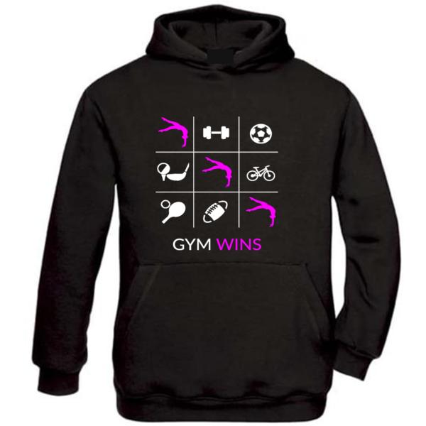 Morpion Gym Gaf Sweat Fille