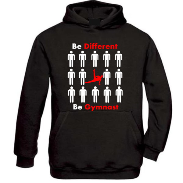 Be Different Be Gymnast Gam Sweat Homme