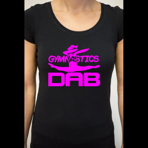 Dab Gymnastics Tee-Shirt Femme