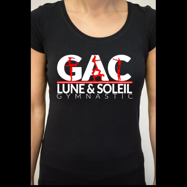 Gymnastique Acrobatique Tee-Shirt Femme