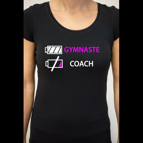J'épuise Le Coach Tee-Shirt Femme