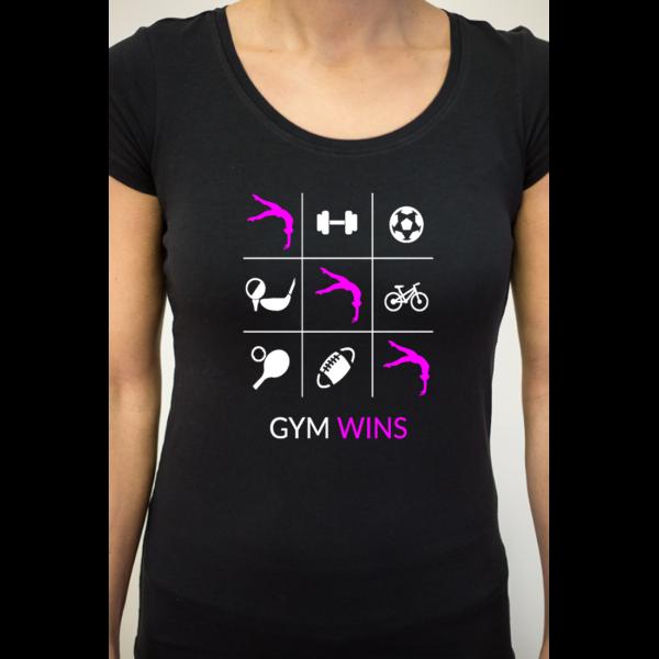 Morpion Gym Gaf Tee-Shirt Femme