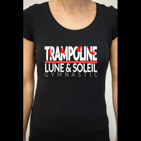 TRAMPOLINE Tee-Shirt Femme