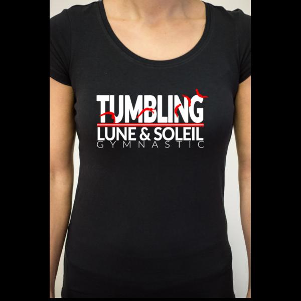 TUMBLING Discipline Tee-Shirt Femme