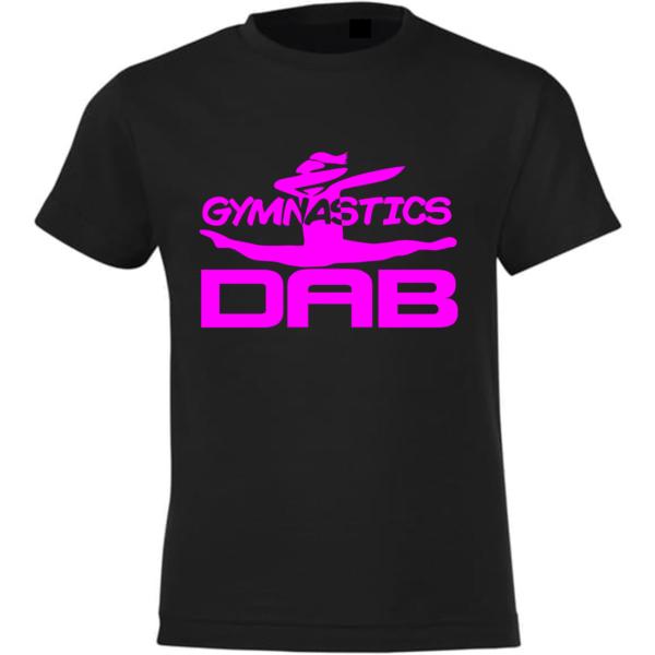 Dab Gymnastics Tee-Shirt Fille