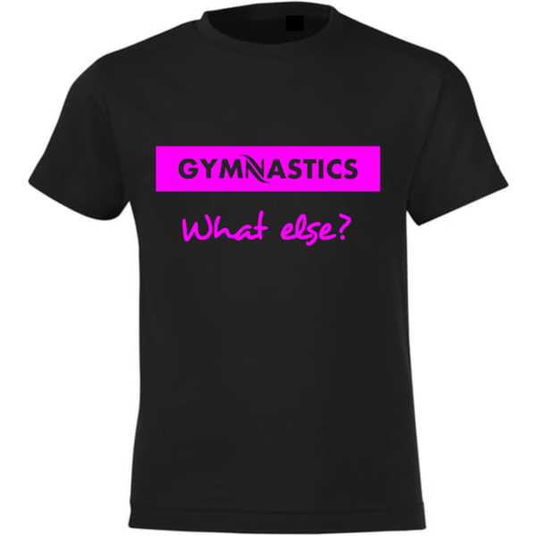 Gymnastics What Else Tee-Shirt Fille