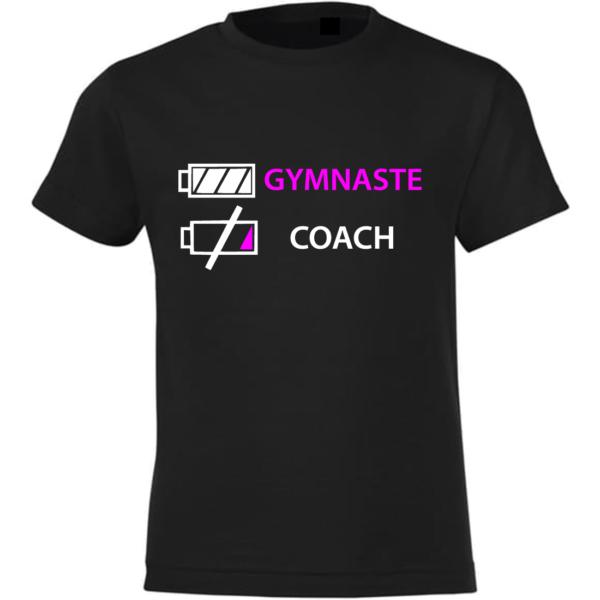 J'épuise Le Coach Tee-Shirt Fille