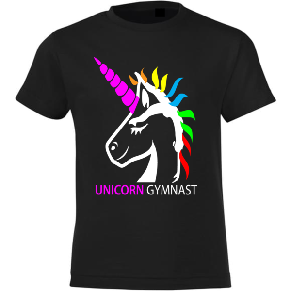 Licorne Unicorn Gymnast Tee-Shirt Fille