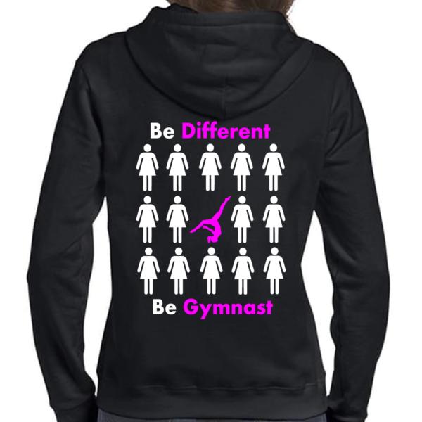 Be Different Be Gymnast Veste Femme