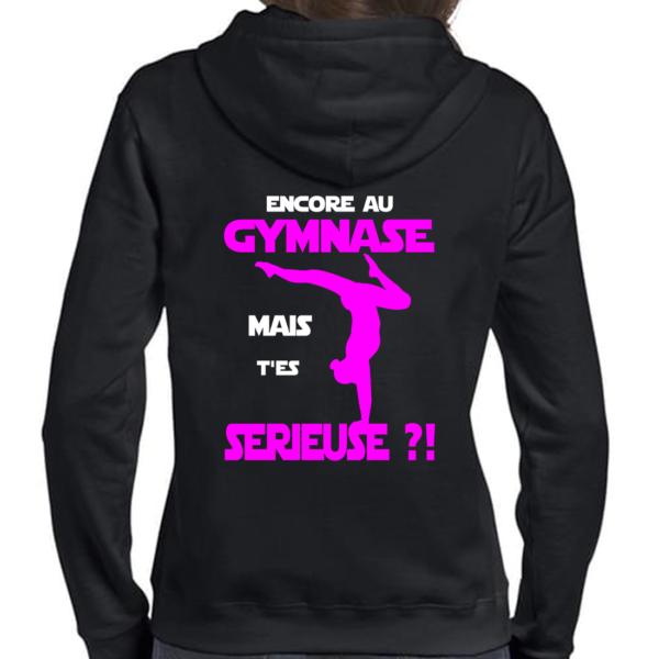 Encore Au Gymnase T'es Serieuse Veste Femme