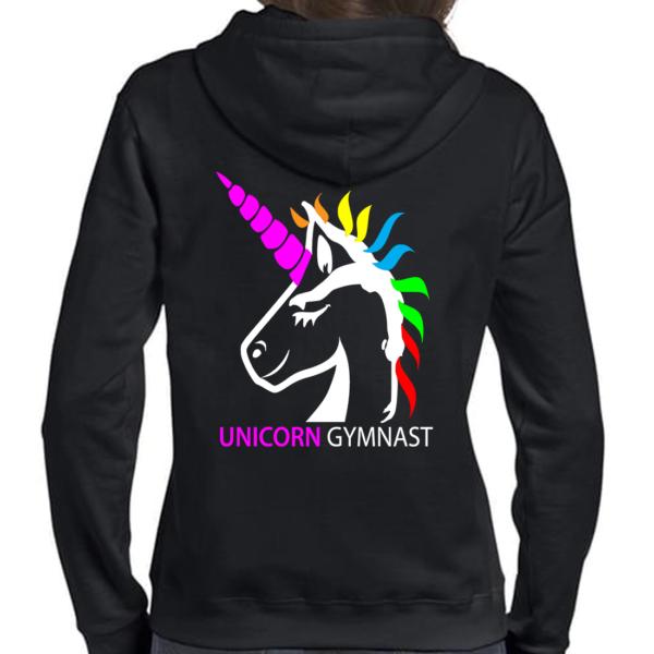 Licorne Unicorn Gymnast Veste Femme