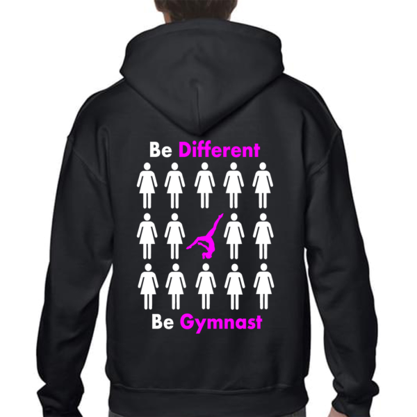 Be Different Be Gymnast Veste Fille