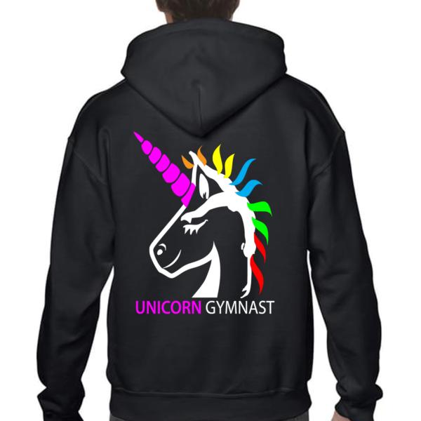 Licorne Unicorn Gymnast Veste Fille