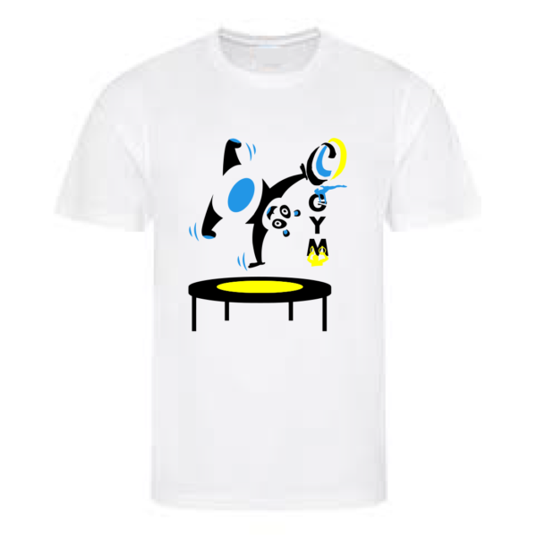 "Tee-Shirt Blanc ""Petits Gymnastes"" CARCASSONNE OLYMPIQUE"