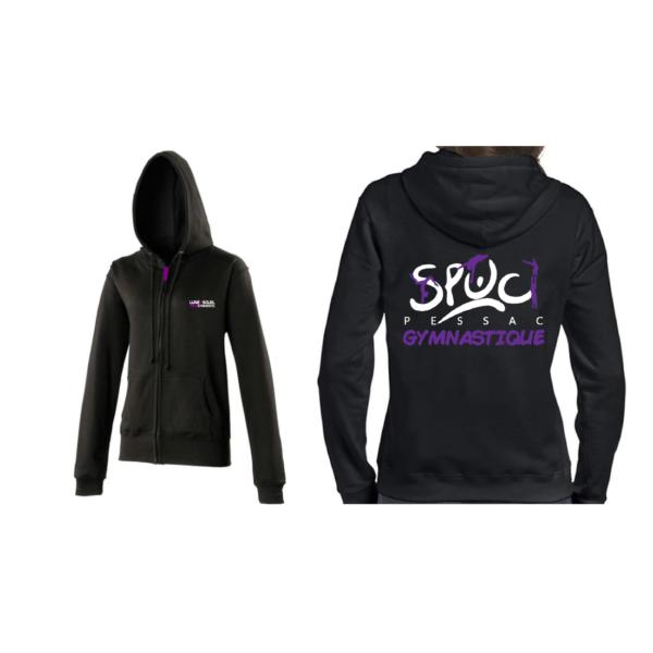 SPUC PESSAC Veste + Prénom Inclus