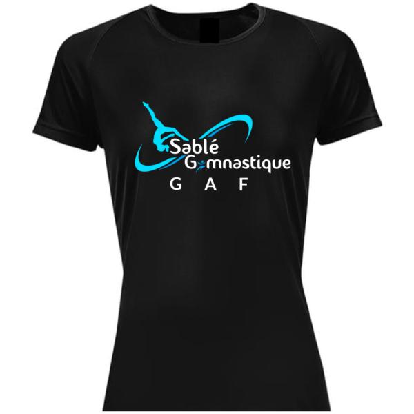 TEE-SHIRT Section GAF SABLE Gymnastique