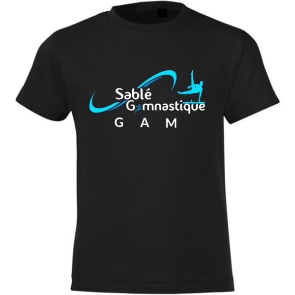 TEE-SHIRT Section GAM SABLE Gymnastique