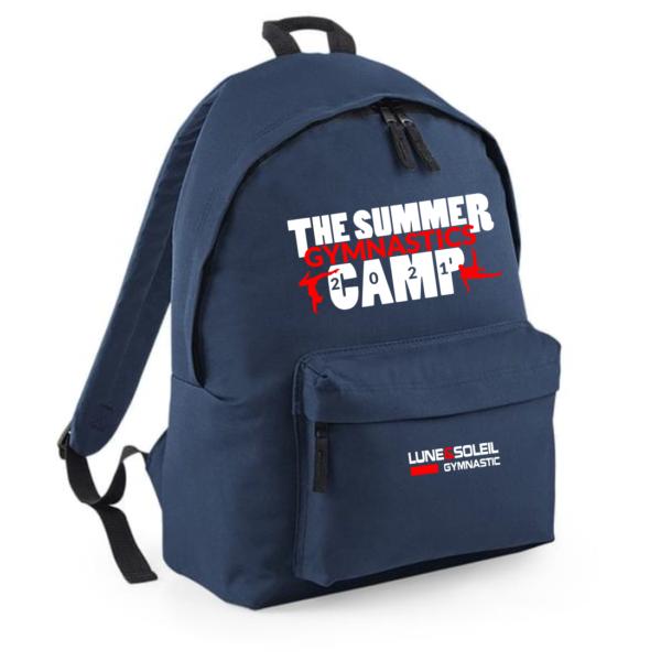 SAC à DOS Bleu Marine Logo Camp 2021