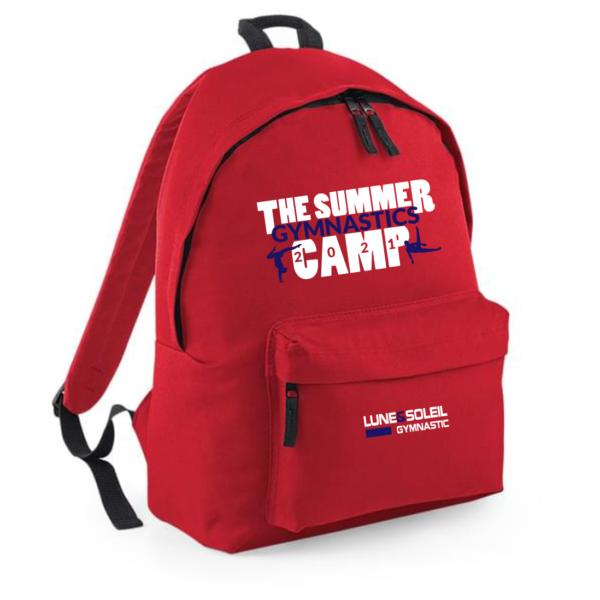 SAC à DOS Rouge Logo Camp 2021