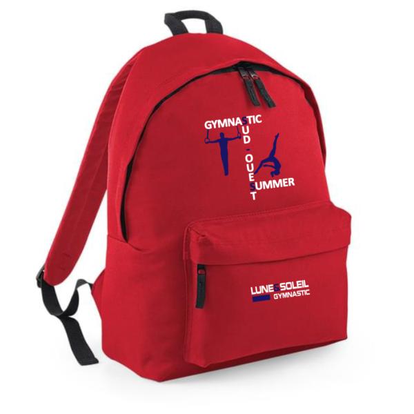 SAC à DOS Rouge Logo Summer